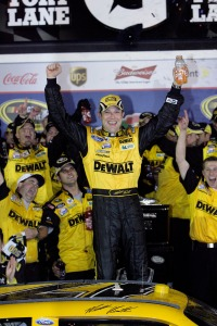 Matt Kenseth in Victory Lane at the Daytona 500