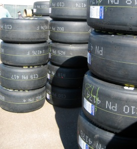 Goodyear Changes Tires For Sunday's Cup Series Race At ... Race Tire Stack