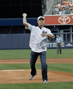 YANKEE STADIUM FIRST PITCH KEVIN HARVICK