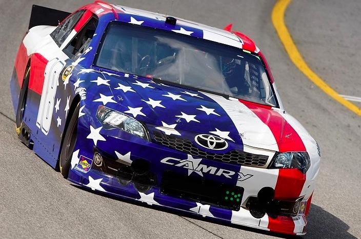 Toyota Of Gadsden >> Kyle Busch 9/11 American Flag #18 Richmond paint scheme – The Final Lap