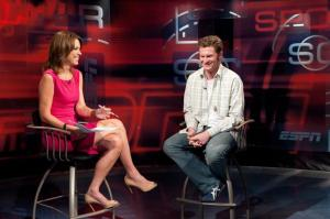 2011 ESPN Sept Dale Earnhardt Jr Hannah Storm