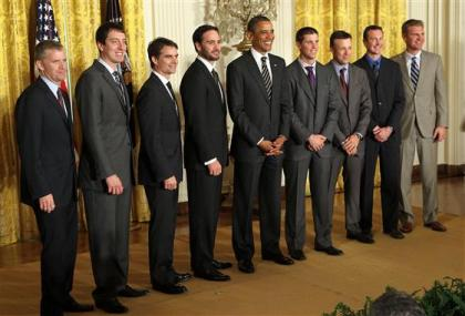 Top 10 drivers on September 7, 2011 in Washington, DC.