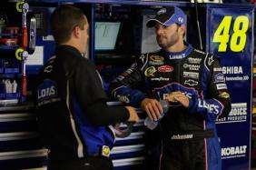 Jimmie Johnson Garage
