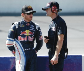 Kasey Kahne, Kenny Francis Red Bull Racing