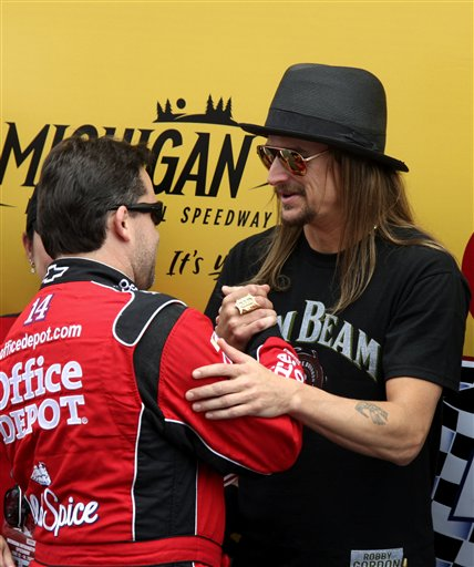 Tony Stewart, Kid Rock