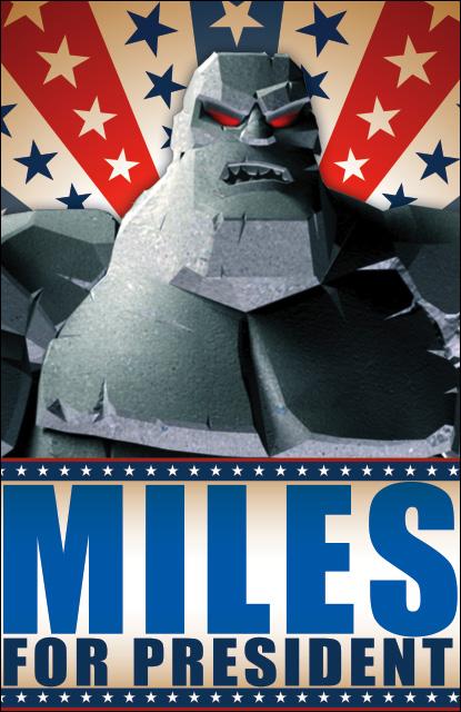 Miles for President