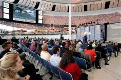 2012 Charlotte Jan Media Tour NASCAR Hall of Fame