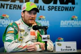 2012 DIS Oct NSCS Test 011212 Earnhardt Jr Press Conf