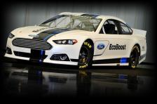 2013 NASCAR FUSION REVEAL CAR---Photo by: Sam VarnHagen