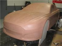 2013-NASCAR-Ford-Fusion -Sprint-Cup-Series-Car-Clay 1