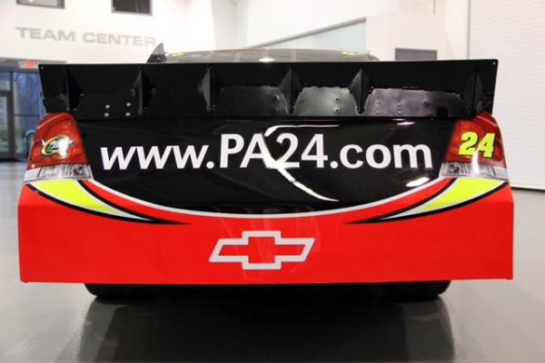 Jeff gordon 2012 dupont paint scheme 24 the final lap for Dupont automotive paint store locator