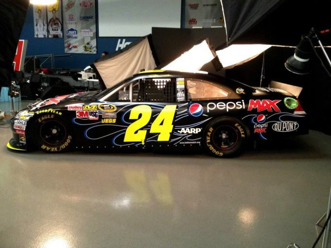 Jeff Gordon 2012 Pepsi Max Chevrolet