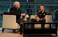 Matt Kenseth, driver of the #17 Best Buy Ford on TV Interview in Dallas, Texas