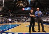 Matt Kenseth, driver of the #17 Best Buy Ford on Mavericks Game in Dallas, Texas