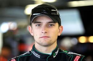 2012 Daytona Feb NCWTS James Buescher in garage