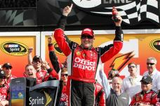 2012 Daytona Feb NSCS Duel1 Stewart Victory Lane