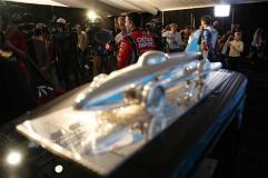 2012 NASCAR Media Day Daytona 500 trophy