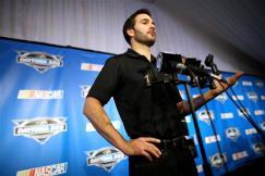 2012 NASCAR Media Day Jimmie Johnson interview