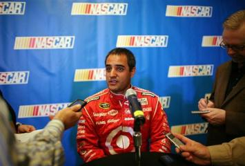 2012 NASCAR Media Day Juan Pablo Montoya interview