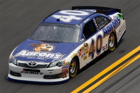 2012 No. 40 Aaron's Dream Machine Toyota Michael Waltrip