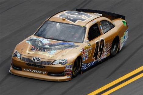 2012 No. 49 America Israel Racing Toyota JJ Yeley