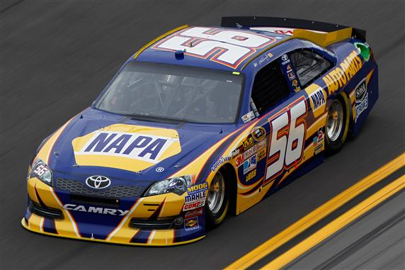 2012 No. 56 NAPA Auto Parts Toyota Martin Truex Jr.