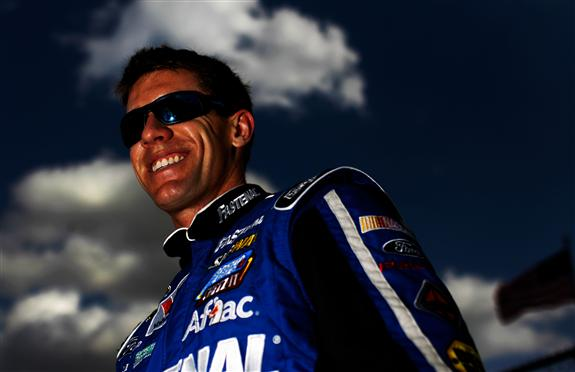 Carl Edwards Daytona 500 pole winner nascar