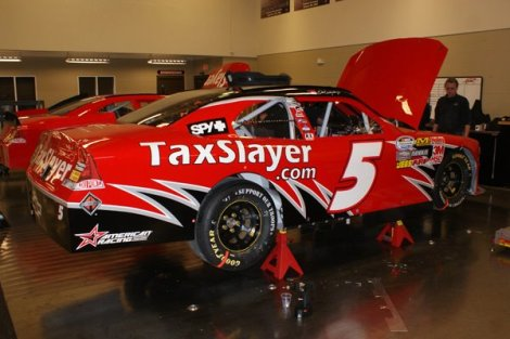 Dale Earnhardt Jr. #5 TaxSlayer Nationwide Series