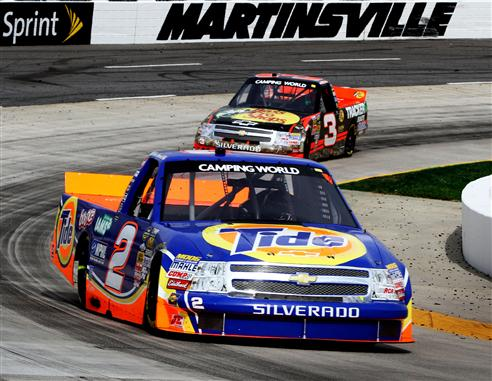 2012 Martinsville March NASCAR Camping World Truck Series Kevin ...