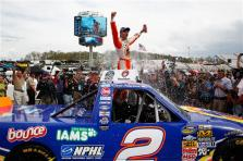 2012 Martinsville March NASCAR Camping World Truck Series Kevin Harvick Victory Lane