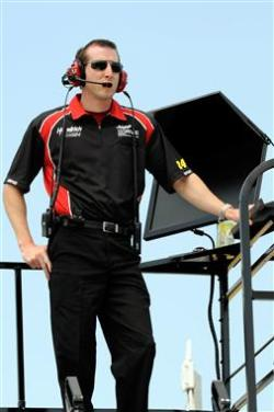 2012 NASCAR Martinsville March Alan Gustafson practice