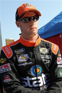 2012 NASCAR Martinsville March Jeb Burton