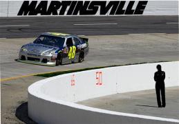 2012 NASCAR Martinsville March Jimmie Johnson practice