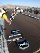 2012 Phoenix March NSCS Race Checkered Flag Denny Hamlin