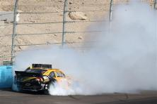 2012 Phoenix March NSCS Race Ryan Newman Into Turn 4 Wall