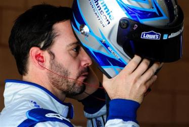 2012 Auto Club Jimmie Johnson Foundation Helmet