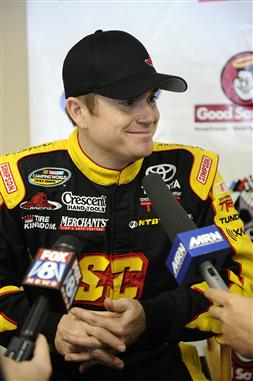 Timothy Peters, who drives in the NASCAR Camping World Truck Series for Red Horse Racing