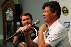 Brian Vickers Michael Waltrip