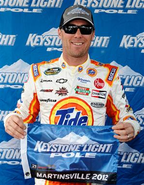Kevin Harvick Martinsville Truck Pole