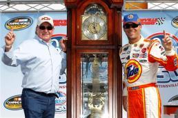 Kevin Harvick Richard Childress Martinsville Grandfather Clock