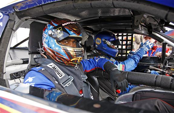 Martin truex jr and antron brown swap rides at zmax for Charlotte motor speedway drag racing