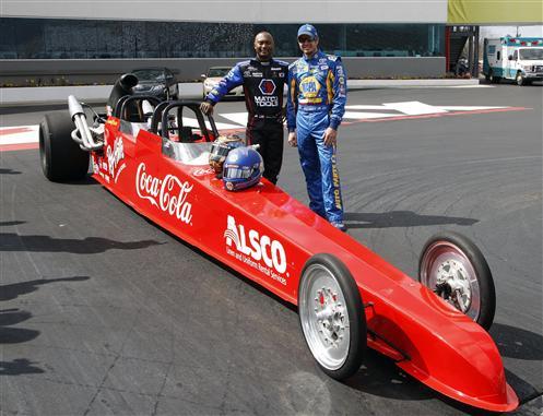 Martin truex nascar antron brown nhra drag racing for Charlotte motor speedway drag racing