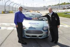 2012 Richmond April Ford Focus Electric Pace NASCAR