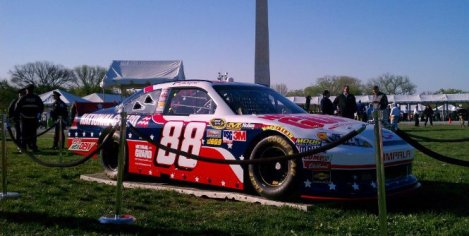 Dale Earnhardt Jr. NASCAR Unites - An American Salute July 2012 Daytona Paint Scheme