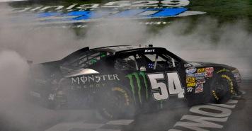2012 NASCAR Nationwide Series, Richmond Kyle Busch Motorsports Monster Energy Kurt Busch