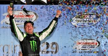 2012 NASCAR Nationwide Series Richmond Kyle Busch Motorsports Monster Energy Kurt Busch