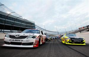 NASCAR-Nationwide-Series-pace-car-lap-Texas