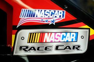 2012 Charlotte May NASCAR Sprint Cup Practice NASCAR Unites Logo