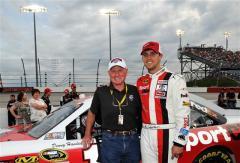 2012 Darlington May NASCAR Sprint Cup Race Cale Yarborough Denny Hamlin