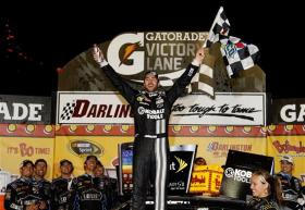 2012 Darlington May NASCAR Sprint Cup Race Jimmie Johnson Victory Lane